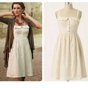 Anthropologie maeve 'in a twinkling' dress sz 2